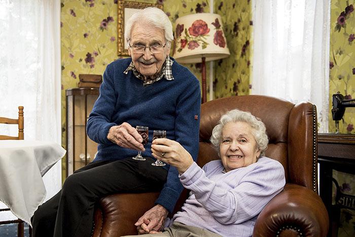 Джон и Эдит были до последнего дня вместе.