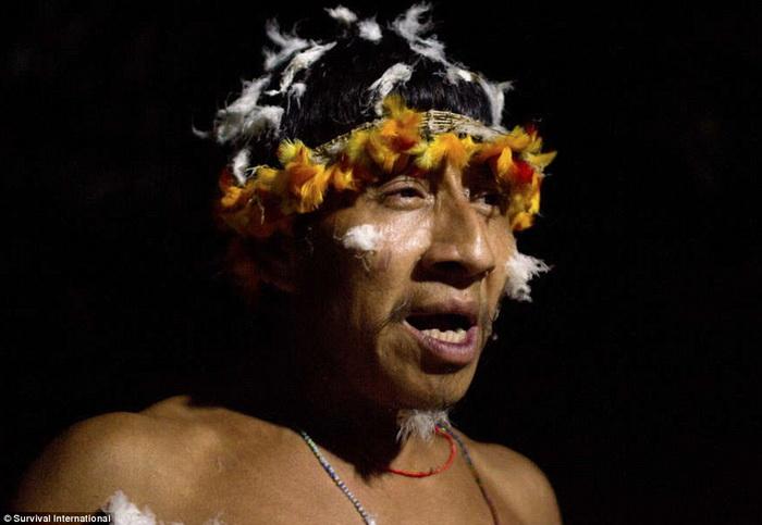Представитель племени ава