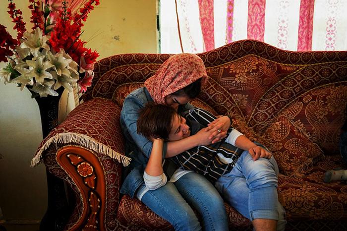Сетар с девушкой.