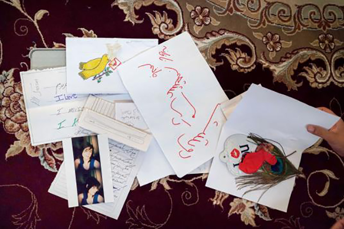 Ящик с любовными письмами от девушки Али.