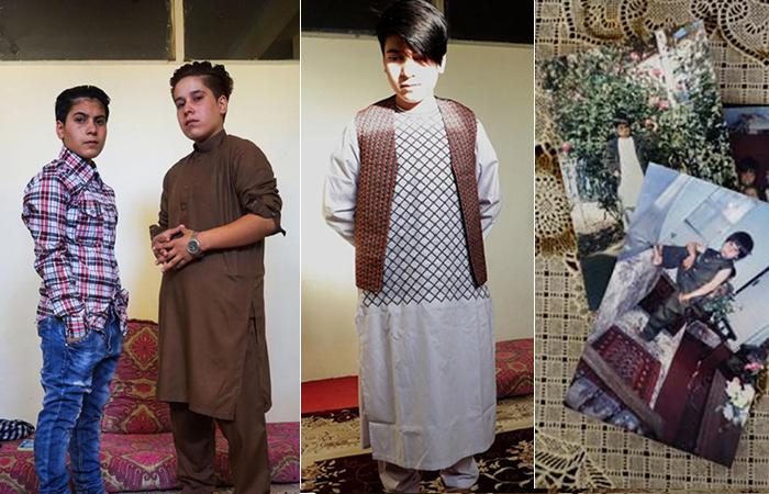 Афганская традиция *бача-пош*.