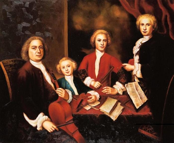 Картинки по запросу Бах- отцы и дети