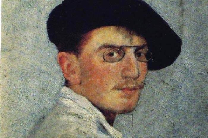 Леон Бакст, автопортрет, 1893 год