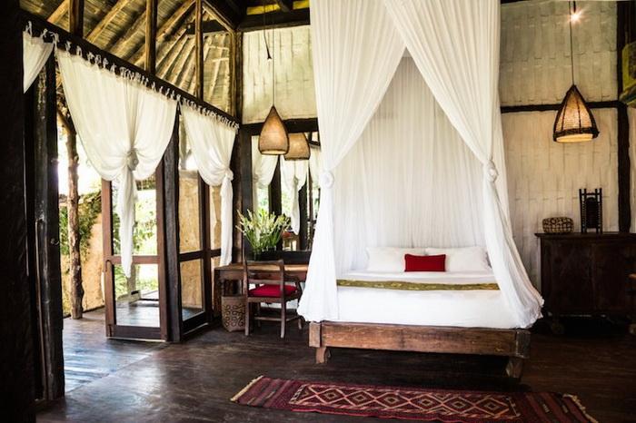 Роскошный отель Bambu Indah на острове Бали