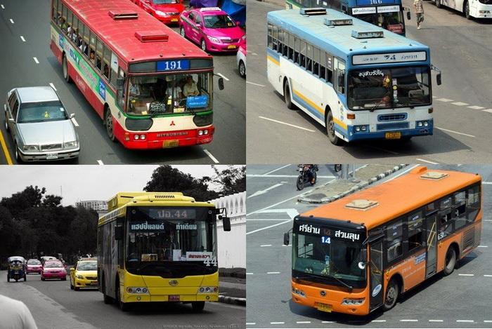 Цвет автобуса зависит от уровня комфортности, маршрута и тарифа перевозок