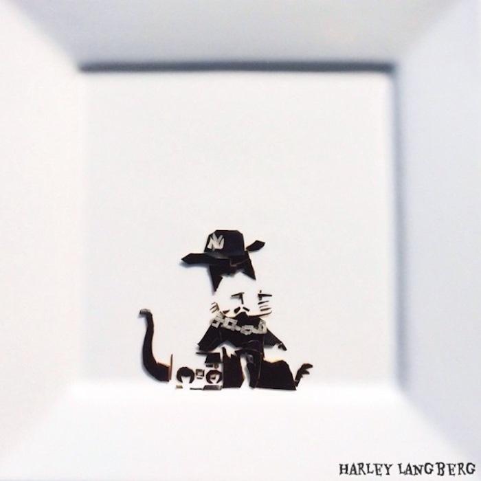 Съедобные репродукции знаменитых граффити Роберта Бэнкси