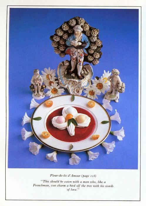 Флер де Лис. Этот десерт нужно есть с мужчиной, который, подобно французу, способен очаровать птицу на дереве словами любви