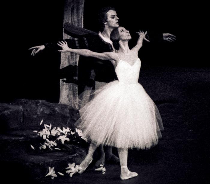 Михаил Барышников и Наталия Макарова на сцене American Ballet Theatre, «Жизель» | Фото: elle.ru