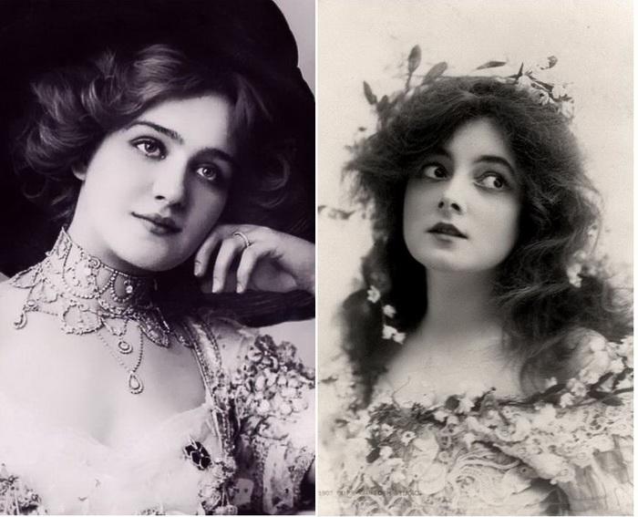 Портреты девшек Эдвардианской эпохи