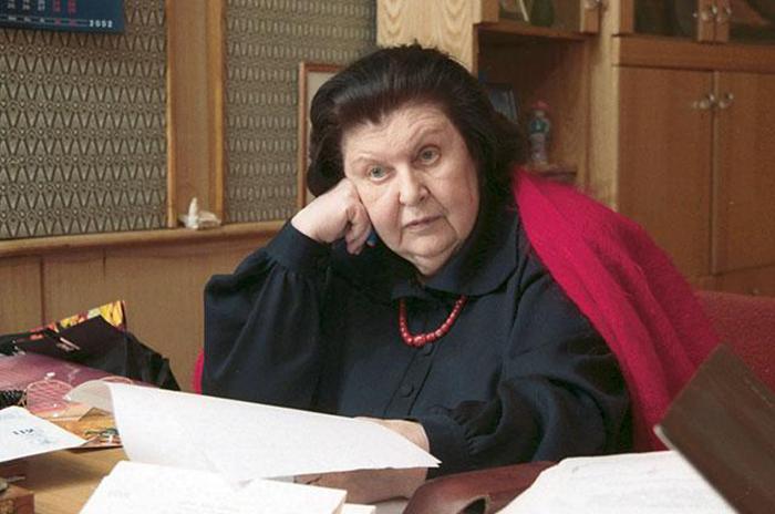 Наталья Бехтерева за работой