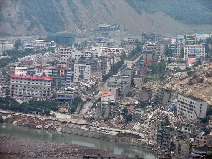 Бэйчуань - город, разрушенный землетрясением
