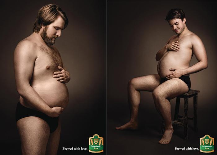 Рекламный постер пива Bergedorfer Beer