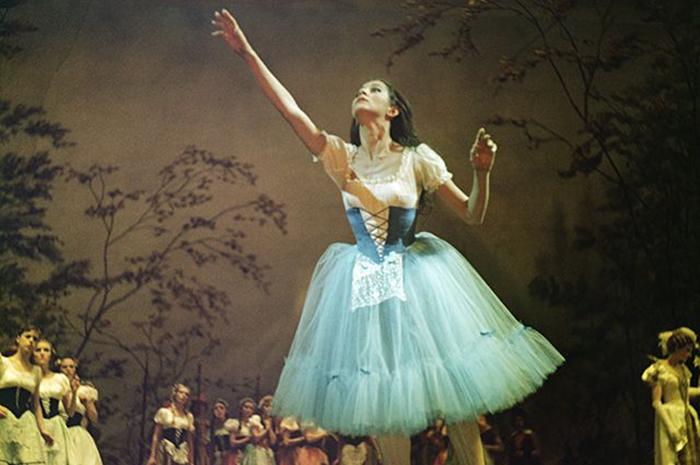 Наталья Бессмертнова в роли Жизель, 1966 год. Фото: ria.ru