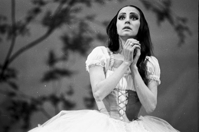 Наталия Бессмертнова в роли Жизель. Фото: ria.ru