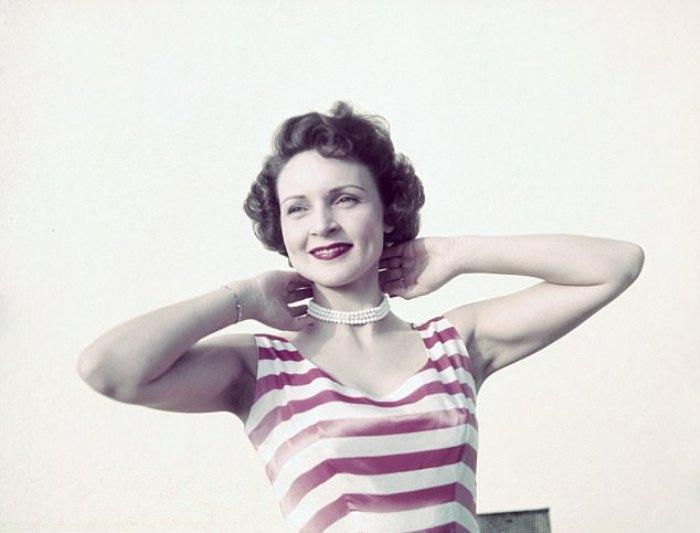 Бетти Уайт в молодости.