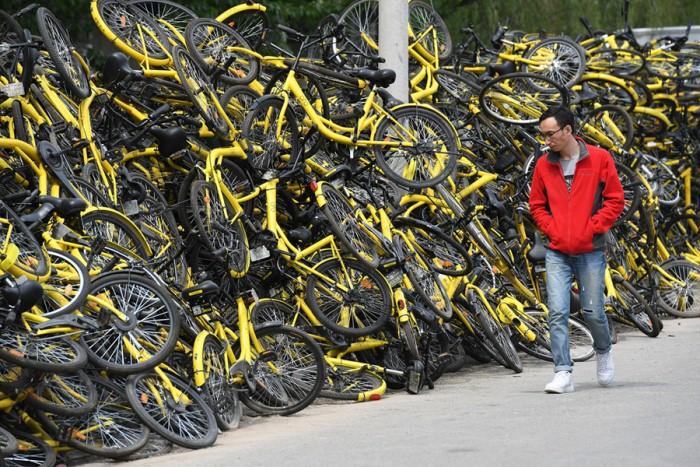 Свалка в Пекине, 2017 г.
