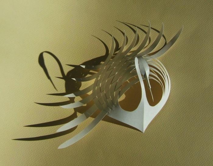 Бумажные скульптуры от Бийджиана Фана (Bijian Fan)