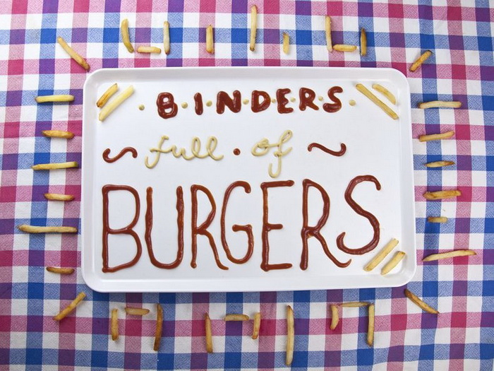 Эпатажный фотопроект «Binders Full of Burgers» о выборах в США