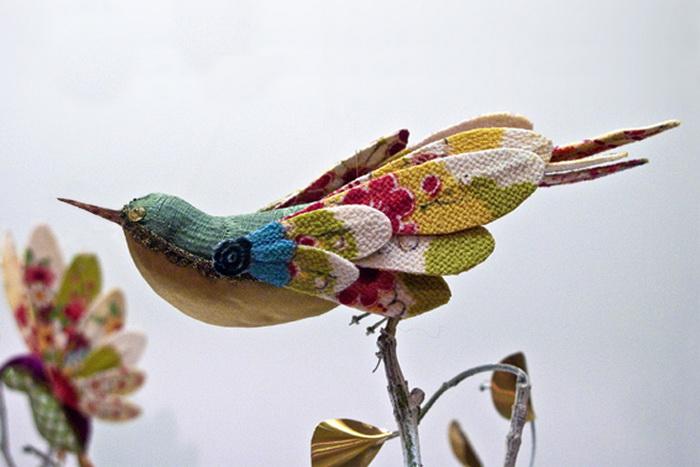 Красочные птицы от Жозефины Хаг (Josephine Hague)