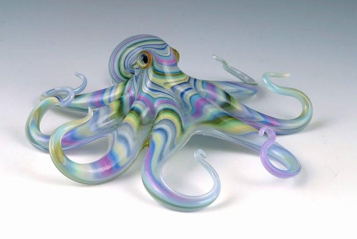 Разноцветный осьминог