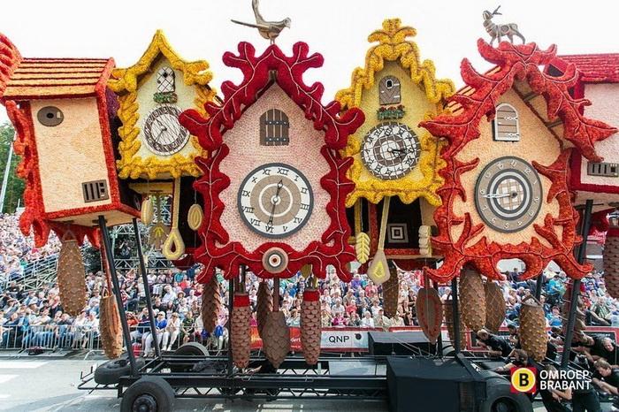 Bloemencorso-2014: юбилейный парад цветов в Нидерландах