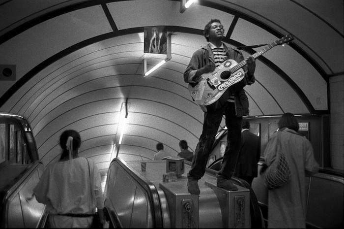 Underground: фотоцикл о лондонском метро