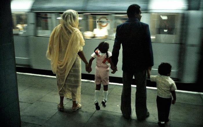 Ретро-фотографии лондонского метро от Боба Маззера (Bob Mazzer)