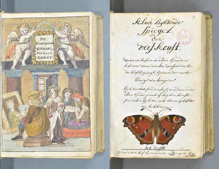 Цветовой справочник, составленный A. Boogert