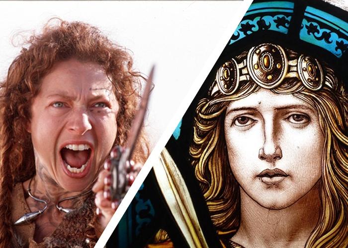 Боудикка - предводительница кельтов, поднявшая восстание против Римской империи