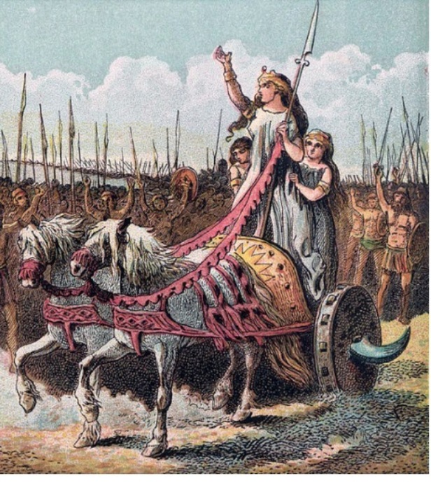 Иллюстрация в духе романтического национализма (1868).  Фото: she-win.ru