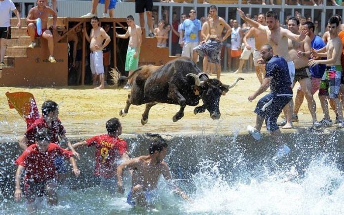 Фестиваль Bous a la Mar