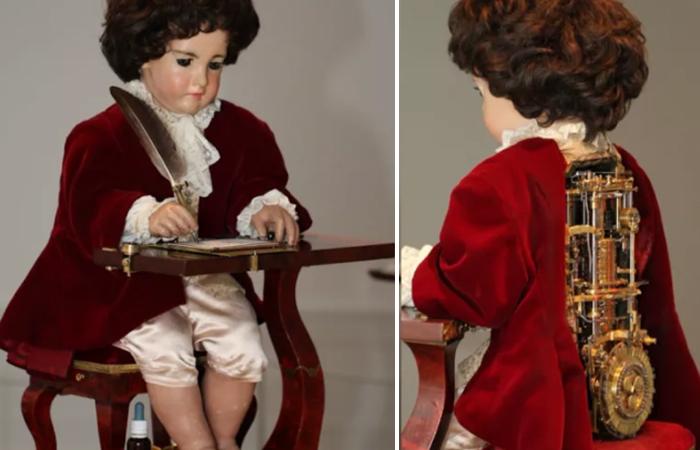 Робот-автомат «Писарь» - аналог современного принтера, который появился почти 250 лет назад.