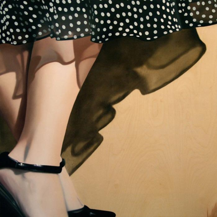 Фотореалистические картины Brian Tull в стиле 1950-х годов