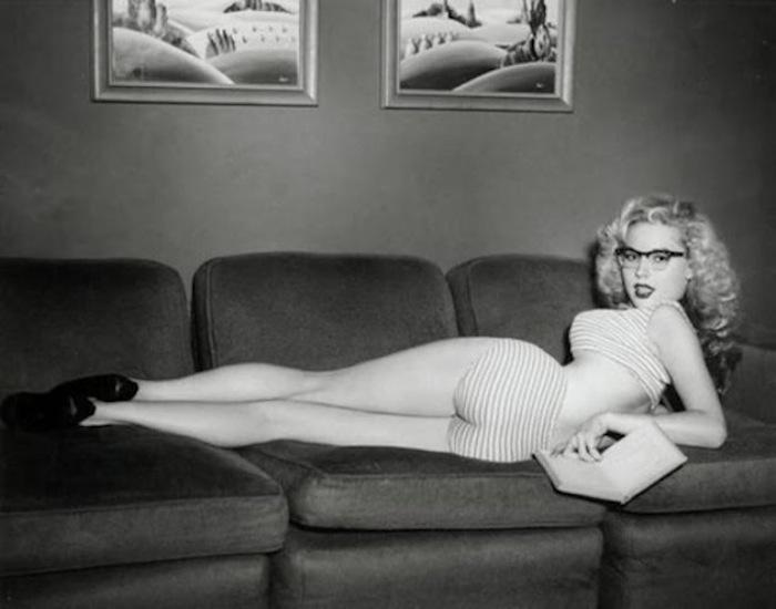 Фотографии Бетти Бросмер украшали обложки модных журналов