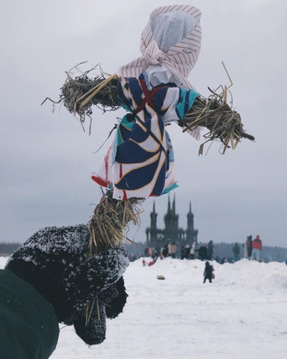 Празднование Масленицы в Никола-Ленивце.