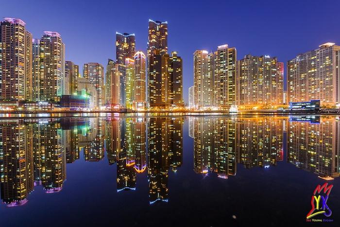 Небоскребы г. Пусан (Корея)