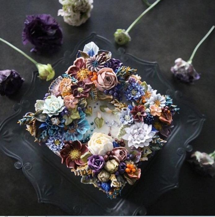 Весенние букеты - источник вдохновения для цветочного декора.
