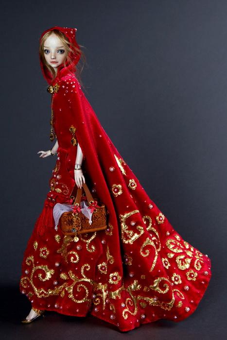 Кукольное воплощение образа Красной Шапочки