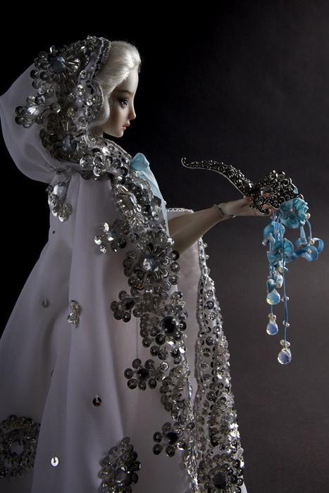 Фарфоровые куклы Марины Бычковой