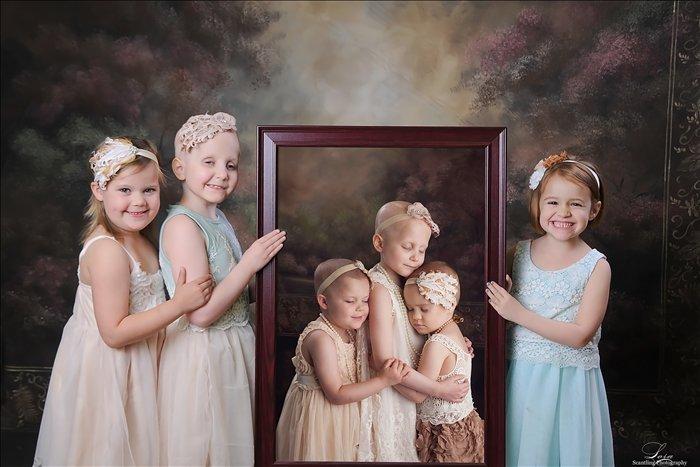 Три девочки, победившие рак: разница между двумя фотографиями -2 года