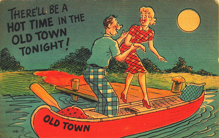 �������� ��������� ������ �� �������� Old Town Canoes