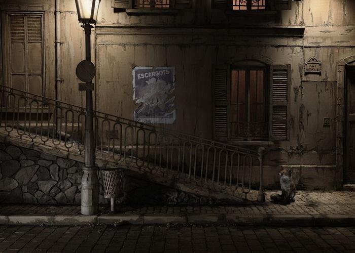 Парижский урбанистический пейзаж (фотопроект Энди Рудака)