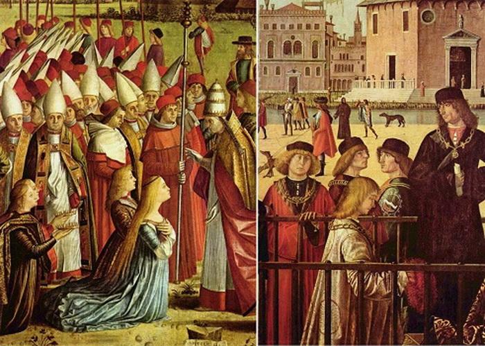 Картины венецианского живописца Витторе Карпаччо