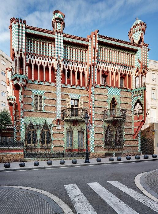 Дом Висенс - новая достопримечательность Барселоны.
