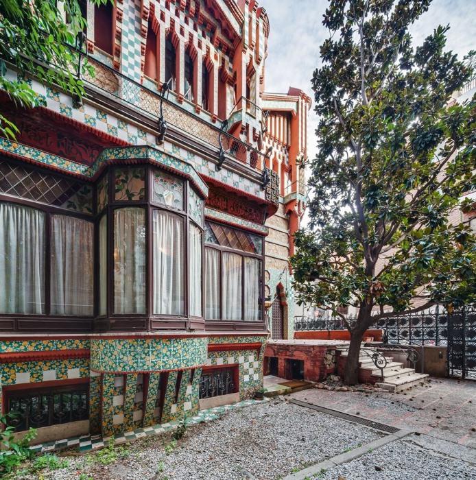 Дом Висенс в Барселоне, Испания.
