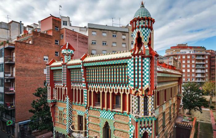 Дом Висенс - дебют архитектора Антонио Гауди.