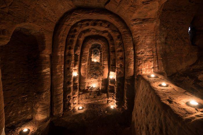 Возраст пещеры тамплиеров - 700 лет