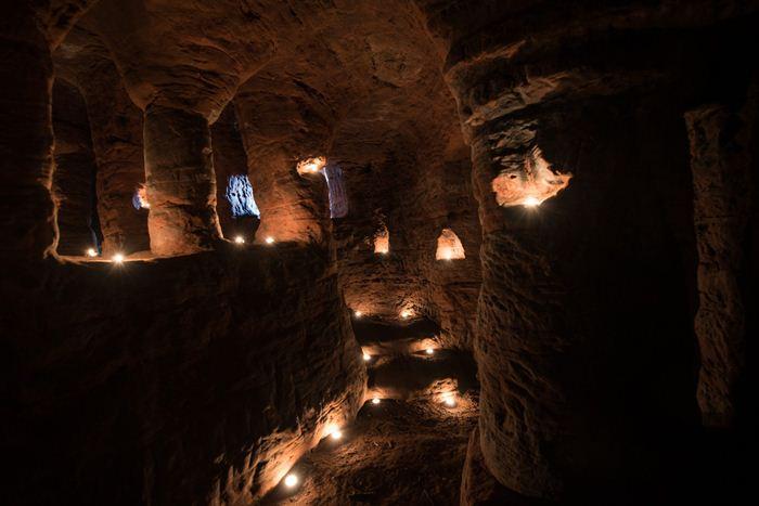 Таинственный коридоры и галереи