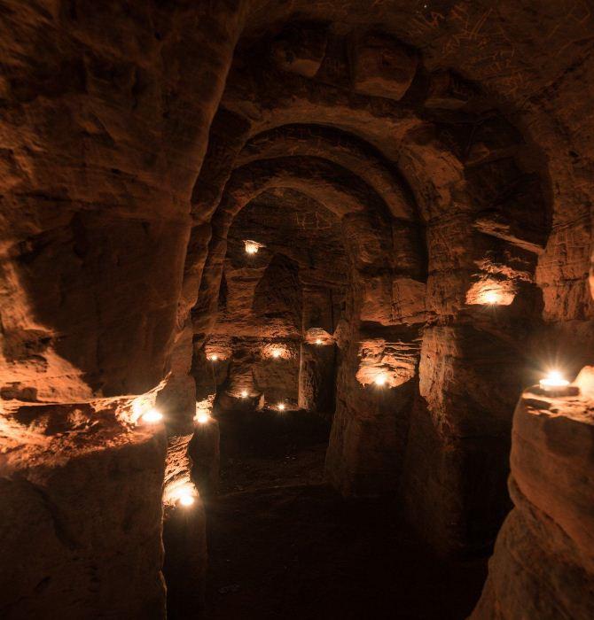 Пещера предназначалась для проведения ритуалов