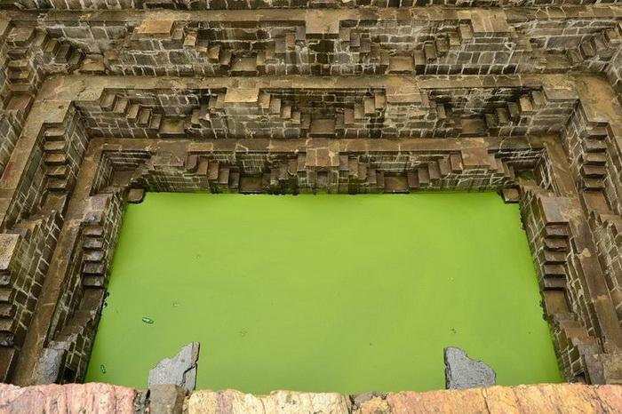 Колодец Чанд Баори - индийское архитектурное чудо